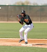 Alexei Ramirez   -  Chicago White Sox - 2009 spring training.Photo by:  Bill Mitchell/Four Seam Images
