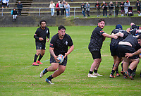 Action from the Horowhenua Kapiti Bill Muir Cup senior reserve club rugby match between Paraparaumu and Levin Wanderers at Paraparaumu Domain in Paraparaumu, New Zealand on Saturday, 10 April 2021. Photo: Dave Lintott / lintottphoto.co.nz