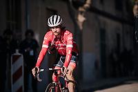 Kiel Reijnen (USA/Trek-Segafredo) to the start<br /> <br /> 27th Challenge Ciclista Mallorca 2018<br /> Trofeo Campos-Porreres-Felanitx-Ses Salines: 176km