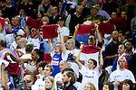 16.09.2011, Arena Zalgirio, Kaunas, LTU, FIBA EuroBasket 2011, Frankreich vs Russland, im Bild Fans of France during final basketball game between National basketball teams of Spain and France at FIBA Europe Eurobasket Lithuania 2011, on September 18, 2011, in Arena Zalgirio, Kaunas, Lithuania. EXPA Pictures © 2011, PhotoCredit: EXPA/ Sportida/ Vid Ponikvar  +++++ ATTENTION - OUT OF SLOVENIA/(SLO) +++++