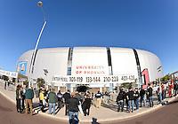 January 01, 2014:<br /> <br /> View of University of Phoenix Stadium during Fiesta Bowl in Scottsdale, AZ.