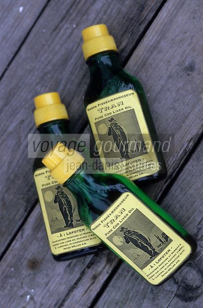Europe/Norvège/Iles Lofoten : Huile de foie de morue