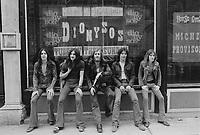 Le groupe Dionysos dans les annees 70 (date inconnue) <br /> <br /> PHOTO :  AGENCE QUEBEC PRESSE