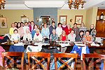 The Iveragh Women's Group pictured here in Eva's Restaurant in Cahersiveen on Wednesday 11th March for their end of year part night.