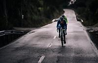2 WB Aqua Protect - Veranclassic riders trying to regain the peloton in a descent<br /> <br /> Trofeo Lloseta - Andratx: 140km<br /> 27th Challenge Ciclista Mallorca 2018
