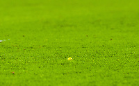 Yellow ball on the pitch during the Sky Bet Championship match between Hull City and Sheff United at the KC Stadium, Kingston upon Hull, England on 23 February 2018. Photo by Stephen Buckley / PRiME Media Images.