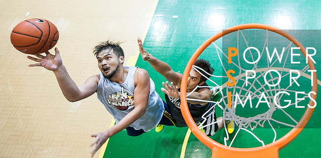 Competitors in action during the Hong Kong's Red Bull King of the Rock at the Southorn Indoor Stadium on September 1, 2012 in Hong Kong. Photo by Victor Fraile / The Power of Sport Images