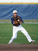 Boca Ciega Pirates second baseman Kaemic Brown (1) during a game against the Lakeland Spartans at Boca Ciega High School on March 2, 2016 in St. Petersburg, Florida.  (Copyright Mike Janes Photography)
