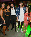 MIAMI GARDENS, FL - JUNE 06: Jeannena Flores, Jencarlos Canela and Guest attend Floyd Mayweather vs Logan Paul pre-fight VIP party at Hardrock stadium North Sildeline Club on June 6, 2021 in Miami Gardens, Florida.  ( Photo by Johnny Louis / jlnphotography.com )