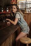 Sunday Mail Fashion with Mirella, Denim on Denim. Photo: Nick Clayton.
