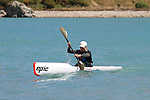 Elina Ussher. 2012 SI Surf Ski Championships: Tahunanui to Cable Bay.<br /> Photo: Marc Palmano/Shuttersport