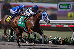SEP 3,2014:Ankeny Hill,ridden by Tyler Baze,wins the Pirate's Bounty Stakes at Del Mar in Del Mar,CA. Kazushi Ishida/ESW/CSM