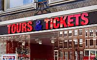 Nederland - Amsterdam -  Februari 2019.  Tours and Tickets.   Foto Berlinda van Dam / Hollandse Hoogte