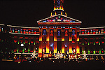 DENVER CITY AND COUNTY BUILDING LIT UP FOR CHRISTMAS