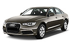 Front three quarter view of a 2014 Audi A6 AVUS 4 Door Sedan 2WD
