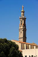 Glockenturm in Mores, Provinz Sassari, Nord - Sardinien, Italien