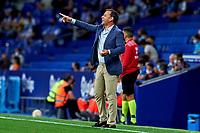 22nd September 2021: RCDE Stadium, Barcelona, Spain: La Liga Football, Espanyol versus Atletico Madrid; <br /> Javi Calleja manager of Deportivo Alavés
