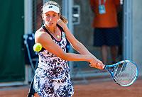 Paris, France, 31 May, 2018, Tennis, French Open, Roland Garros, Womans doubles: Elise Mertens <br /> Photo: Henk Koster/tennisimages.com