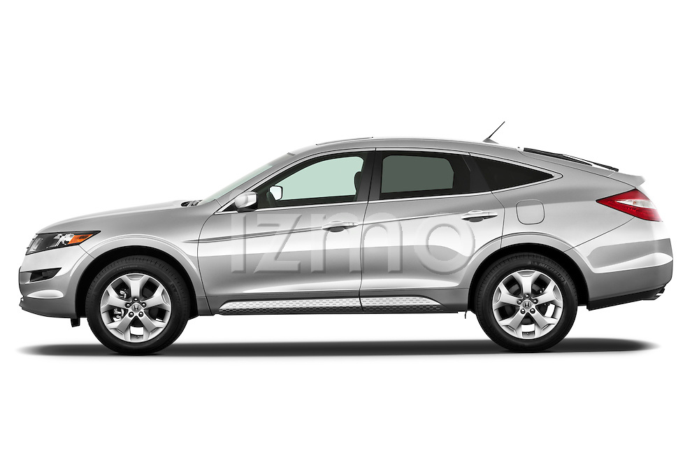 Driver side profile view of a 2012 Honda Crosstour EXL.