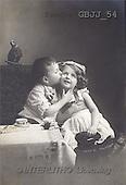 Jonny, CHILDREN, nostalgic, paintings(GBJJ54,#K#) Kinder, niños, nostalgisch, nostálgico