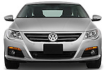 Straight front view of a 2009 volkswagen cc luxary