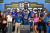 Monster Energy NASCAR Cup Series<br /> ISM Connect 300<br /> New Hampshire Motor Speedway<br /> Loudon, NH USA<br /> Friday 22 September 2017<br /> Kyle Busch, Joe Gibbs Racing, M&M's Caramel Toyota Camry wins<br /> World Copyright: Rusty Jarrett<br /> LAT Images