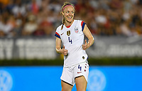 PASADENA, CALIFORNIA - August 03: Becky Sauerbrunn #4 during their international friendly and the USWNT Victory Tour match between Ireland and the United States at the Rose Bowl on August 03, 2019 in Pasadena, CA.