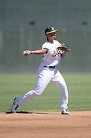 Oakland Athletics infielder Edwin Diaz (29) during an instructional league game against the San Francisco Giants on September 27, 2013 at Papago Park Baseball Complex in Phoenix, Arizona.  (Mike Janes/Four Seam Images)