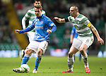 Celtic v St Johnstone.....04.03.15<br /> Chris Millar and Scott Brown<br /> Picture by Graeme Hart.<br /> Copyright Perthshire Picture Agency<br /> Tel: 01738 623350  Mobile: 07990 594431