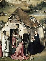 Bosch, Hieronymus Van Aeken, called (1450-1516). The Adoration of the Magi. 1511. The Adoration of the Magi, representation of