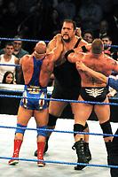 Kurt Angle Big Snow Brook Lesnar 2003                                             By John Barrett/PHOTOlink