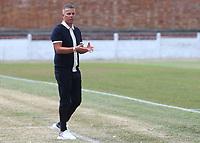 Ramsgate Manager, Matt Longhurst during Ramsgate vs Folkestone Invicta, Friendly Match Football at Southwood Stadium on 1st August 2020