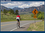 A favorite road for cyclists, Boulder Valley, Colorado. .  John leads private photo tours in Boulder and throughout Colorado. Year-round.