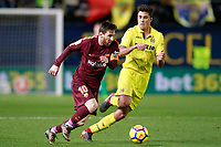 Villarreal CF's Rodrigo Hernandez (r) and FC Barcelona's Leo Messi during La Liga match. December 10,2017. (ALTERPHOTOS/Acero)<br /> Liga Campionato Spagna 2017/2018<br /> Foto Alterphotos / Insidefoto <br /> ITALY ONLY