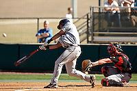 SAN ANTONIO, TX - FEBRUARY 24, 2008: The  University of Louisiana at Lafayette Ragin Cajuns vs. The University of Texas at San Antonio Roadrunners Baseball at Roadrunner Field. (Photo by Jeff Huehn)