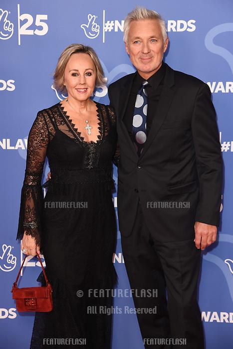LONDON, UK. October 15, 2019: Martin Kemp & Shirlie Kemp at the National Lottery Awards 2019, London.<br /> Picture: Steve Vas/Featureflash