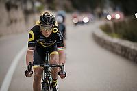 Niki Terpstra (NED/Direct Energie)<br /> <br /> Stage 8: Nice to Nice (110km)<br /> 77th Paris - Nice 2019 (2.UWT)<br /> <br /> ©kramon