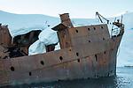 Wreckage Of The Whaling Ship Gouvernoren, Foyn Harbor