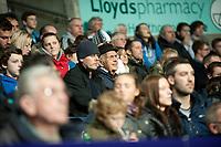 Thursday 24 October 2013  <br /> Pictured: Swansea Fans<br /> Re:UEFA Europa League, Swansea City FC vs Kuban Krasnodar,  at the Liberty Staduim Swansea