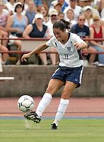 Julie Foudy, USWNT vs Brazil.
