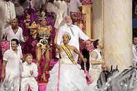 SÃO PAULO, SP, 15.02.2015  CARNAVAL 2015  SÃO PAULO  GRUPO ESPECIAL /VAI VAI . João Marcelo Boscoli, Adriana Lessa e Pedro Camargo Mariano  durante desfile da escola de samba Vai Vai, na madrugada deste domingo, 15. (Foto: Adriana Spaca / Brazil Photo Press).