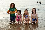 Enjoying the evening on the beach in Ballybunion on Tuesday, l to r: Seoda, Seán, Aodhamair and Ronán Barron from Ballyduff.