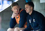 St Johnstone v St Mirren…27.10.18…   McDiarmid Park    SPFL<br />Liam Gordon and Stefan Scougall on the subs bench<br />Picture by Graeme Hart. <br />Copyright Perthshire Picture Agency<br />Tel: 01738 623350  Mobile: 07990 594431