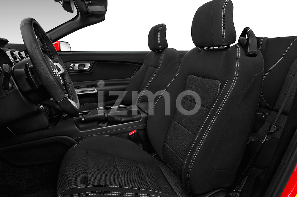 Front seat view of 2017 Ford Mustang V6 2 Door Convertible Front Seat  car photos