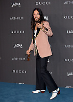 LOS ANGELES, USA. November 03, 2019: Jared Leto at the LACMA 2019 Art+Film Gala at the LA County Museum of Art.<br /> Picture: Paul Smith/Featureflash