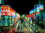 Asia, Japan, Tokyo, Shinjuku, Neon Lights