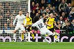 Real Madrid's Cristiano Ronaldo, Marcelo Vieira  during Champions League match between Real Madrid and Borussia Dortmund  at Santiago Bernabeu Stadium in Madrid , Spain. December 07, 2016. (ALTERPHOTOS/Rodrigo Jimenez)