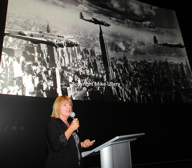 The National Museum of the United States Air Force and the AF Foundation host Christina Olds, daughter of triple ace and National Aviation Hall of Fame enshrinee General Robin Olds, for a presentation on her father's life and career, on June 21, 2016.