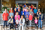 Group attending the Ita Barry Memorial MS Society Charity Walk at the Rose Hotel on Sunday