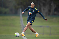 11th November 2020; Granja Comary, Teresopolis, Rio de Janeiro, Brazil; Qatar 2022 qualifiers; Richarlison of Brazil during training session in Granja Comary